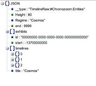 JsonViewer Timelines